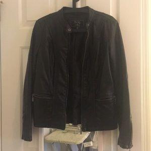 Jackets & Blazers - Faux leather jacket xs